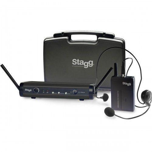 Stagg SUW-30-HSS-B - nagłowny system bezprzewodowy, 96F6-58622