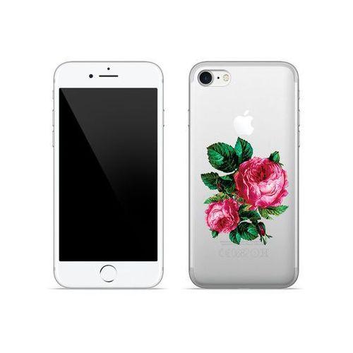 Apple iPhone 8 - etui na telefon Crystal Design - Czerwone róże, ETAP590CRDGDG030000