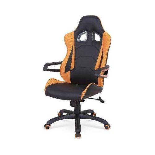 Style furniture Gidran fotel gamingowy dla graczy czarno-pomarańczowy