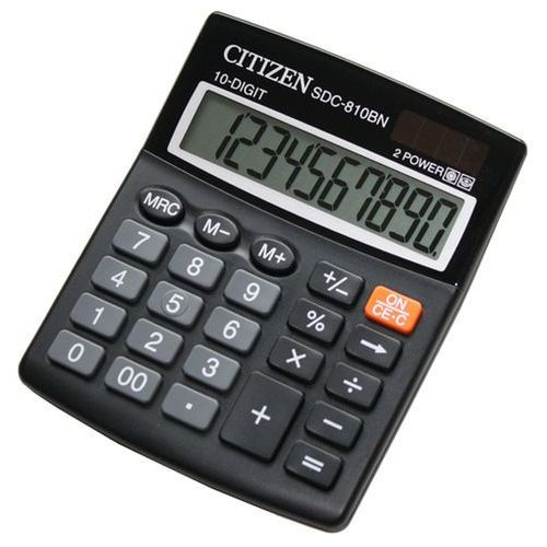Citizen Kalkulator sdc-810b/bn