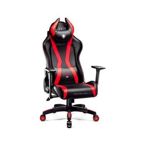 Fotel x-one horn kids (s) czarno-czerwony marki Diablo chairs