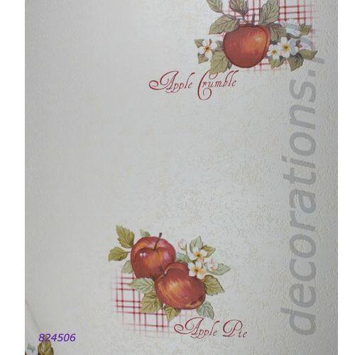 Tapeta Rasch owoce jabłka AQUA RELIEF 2014 824506, 824506