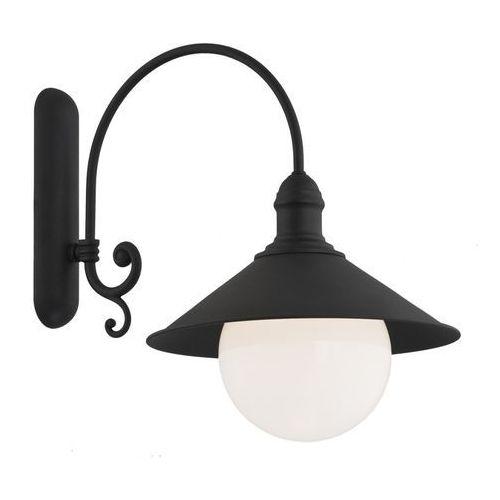 Argon Kinkiet erba 3286 bis lampa ścienna zewnętrzna 1x60w e27 ip44 czarny >>> rabatujemy do 20% każde zamówienie!!!
