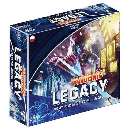 Lacerta Pandemic legacy - edycja niebieska  (5908445421358)