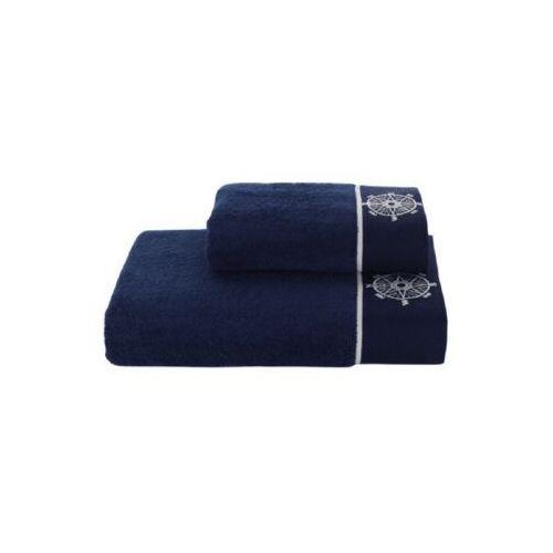 Soft cotton Podarunkowy zestaw ręczników marine lady ciemnoniebieski