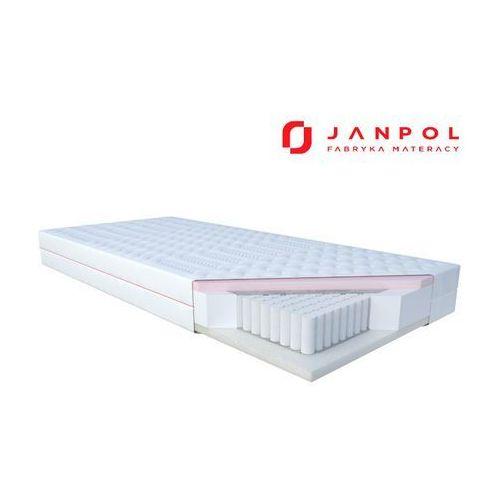 Janpol niobe – materac multipocket, sprężynowy, rozmiar - 80x200, pokrowiec - smart wyprzedaż, wysyłka gratis