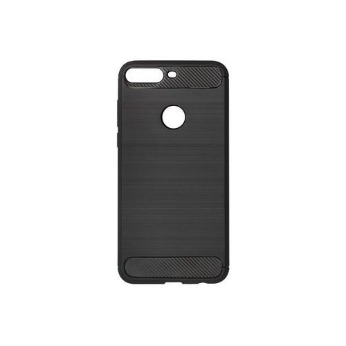 Huawei honor 7c - etui na telefon forcell carbon - czarny marki Forcell carbon case