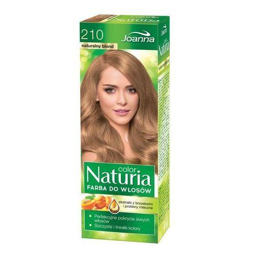 Joanna naturia color farba do włosów naturalny blond nr 210