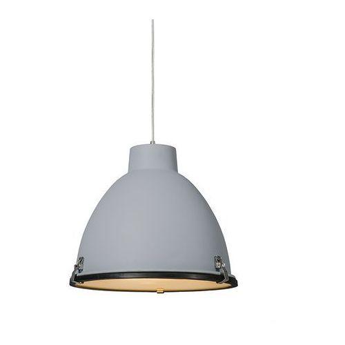 Industrialna lampa wisząca szara 38cm - Anteros