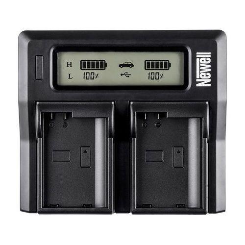 Newell ładowarka lcd dual charger do dmw-blf19e (5901891108026)