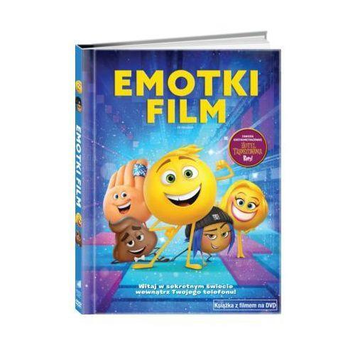 Emotki. Film (DVD) + Książka (5903570160394)