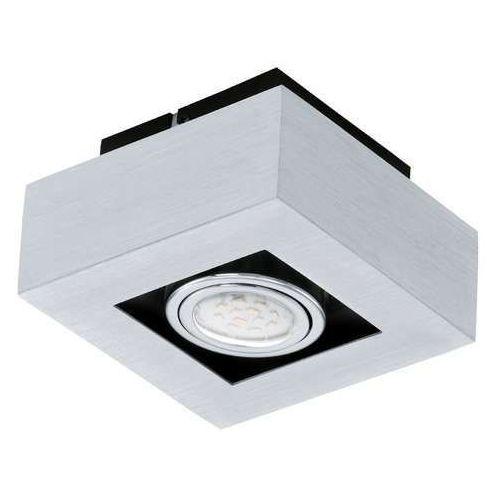 Oczko halogenowe loke 91352 led lampa sufitowa 1x5w gu10 aluminium/chrom marki Eglo