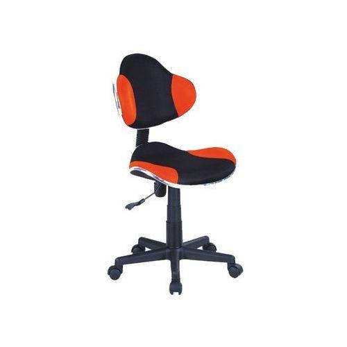 Fotel q-g2 pomarańczowy czarny marki Signal meble