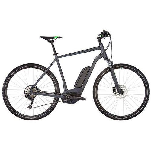 """Cube cross hybrid pro 500 rower elektryczny crossowy szary 58cm (28"""") 2018 rowery elektryczne"""