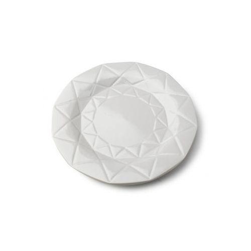 Mondex Talerz płytki adel szary ceramika diament