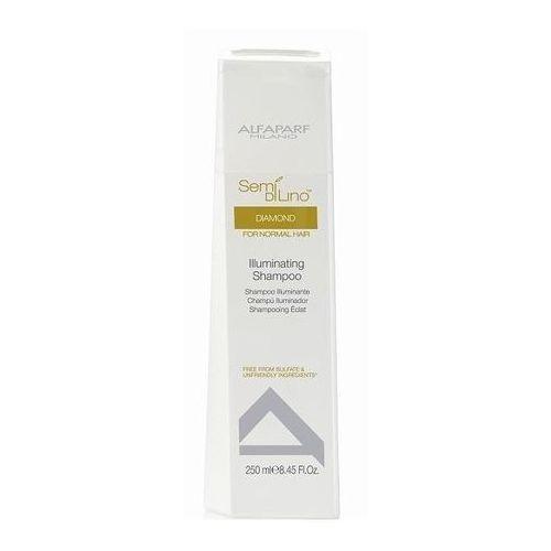 szampon rozświetlający wł. normalne semi di lino diamond 250ml marki Alfaparf