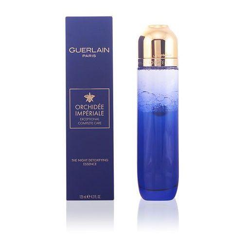 orchidée impériale the night detoxifying essence serum do twarzy 125 ml dla kobiet marki Guerlain