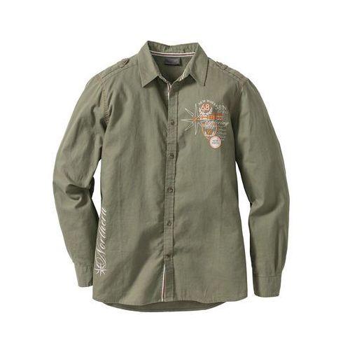 be054f6c0 Koszula z długim rękawem Regular Fit bon... Producent bonprix; Materiał len  ...