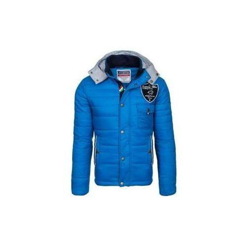 Kurtka męska zimowa sportowa niebieska Denley 77, zimowa