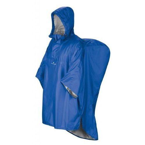 Ponczo przeciwdeszczowe hiker, niebieski, s/m, Ferrino