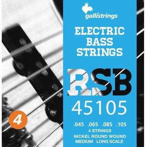 rsb-45105 n - struny do gitary basowej marki Galli