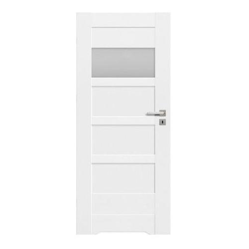 Drzwi z podcięciem Ombra 70 lewe kredowo-białe