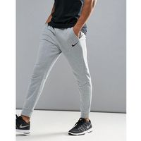 dri-fit fleece tapered joggers in grey 860371-063 - grey marki Nike training