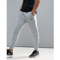 Nike Training Dri-FIT Fleece Tapered Joggers In Grey 860371-063 - Grey, kolor szary