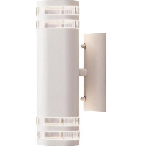 Konstsmide modena zewnętrzny kinkiet biały, 2-punktowe - nowoczesny/design - - modena - czas dostawy: od 3-6 dni roboczych (7318307516258)
