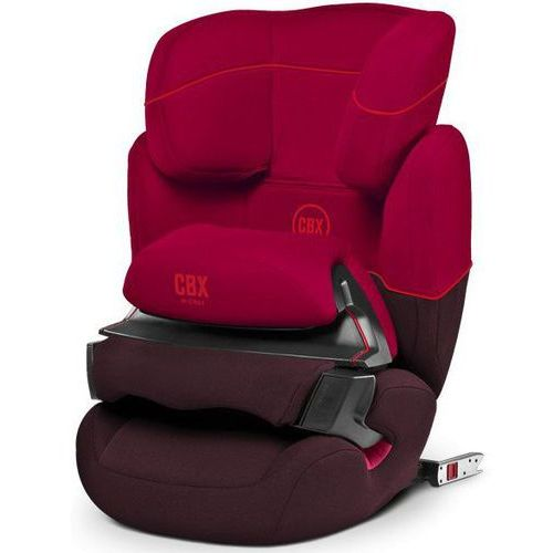 Cybex fotelik aura-fix cbxc 2018, rumba red