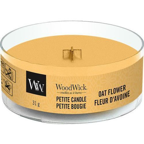 Woodwick Świeca petite oat flower