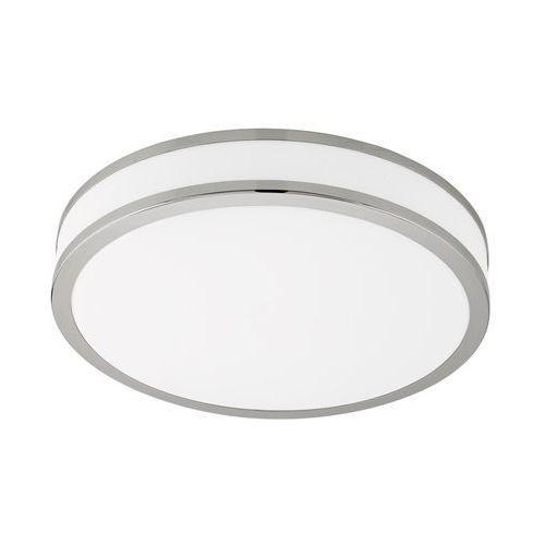Plafon Eglo Palermo 3 95685 lampa sufitowa 1x22W LED chrom/biały, kolor biały,