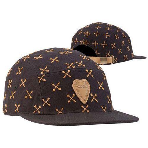 czapka z daszkiem COAL - The Cascade Black (03) rozmiar: OS