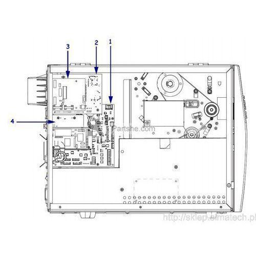 Zebra applicator interface port do 110xi4/140xi4/170xi4/220xi4/r110xi4