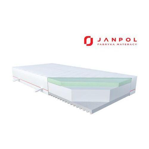 JANPOL PURE DREAM - materac piankowy, Rozmiar - 160x200, Pokrowiec - Silver Protect WYPRZEDAŻ, WYSYŁKA GRATIS