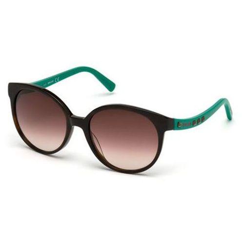 Just cavalli Okulary słoneczne jc 589s 56f