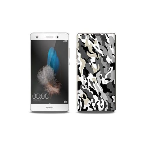 Huawei P8 Lite - etui na telefon Full Body Slim Fantastic - szare moro