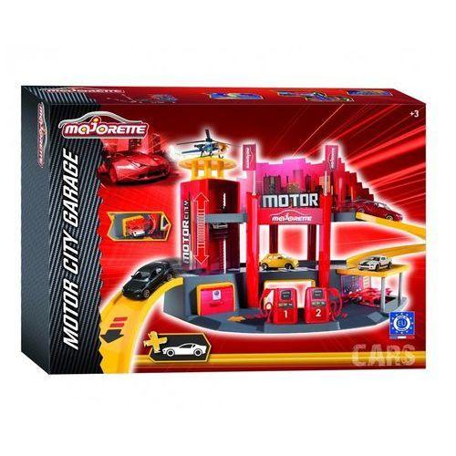 Majorette Garaż motor city + 1 samochód - (3467452021538)