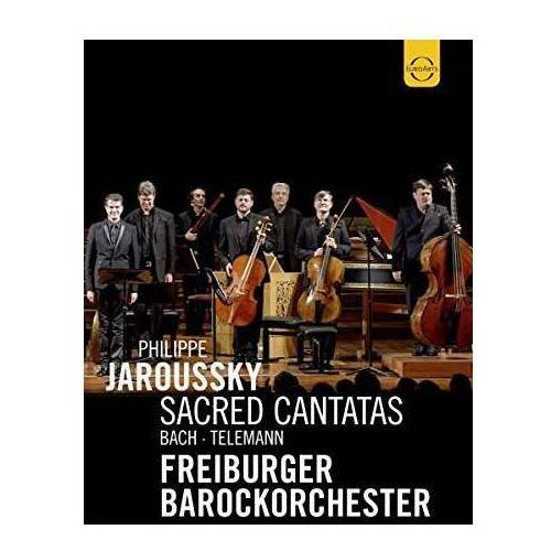 Jaroussky, Philippe , Freiburger Barockorchester - EUROARTS - BACH & TELEMANN (DVD), 8024261578