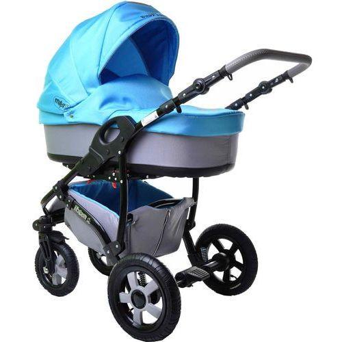 Sun Baby Wózek wielofunkcyjny Ibiza 2w1, niebieski (2008120050064)