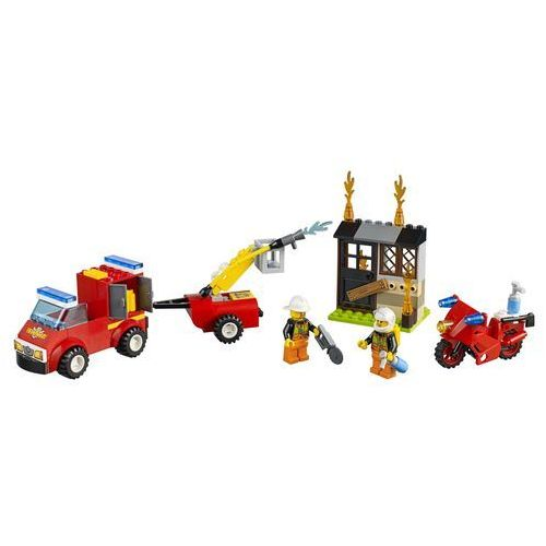 LEGO Juniors, Patrol strażacki, 10740