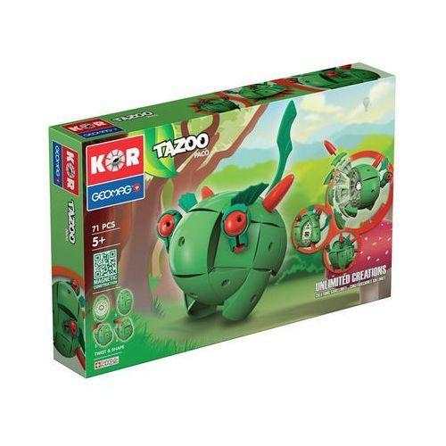Klocki konstrukcyjne Geomag KOR Tazoo 71 elementów - Paco 871772006022