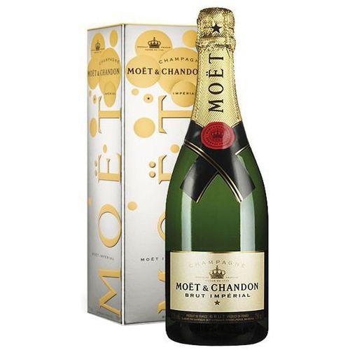 Moet&chandon 750ml imperial brut szampan francuski biały wytrawny w kartonie   darmowa dostawa od 200 zł, marki Moet & chandon