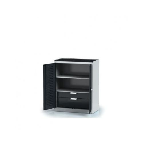 Szafa warsztatowa - 2 półki, 2 szuflady marki Alfa 3