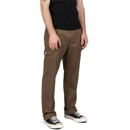 Brixton Spodnie - fleet cargo pant dark khaki (dkkhk) rozmiar: 32