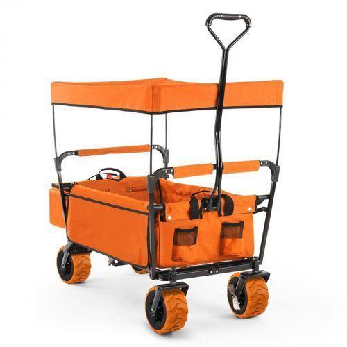 Waldbeck The Orange Supreme Wózek domowy Wózek ręczny składany 68 kg Dach przeciwsłoneczny