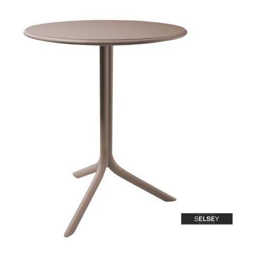 Selsey stół chapena szary średnica 61 cm (5903025102702)