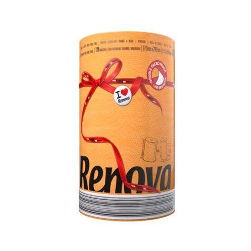 1szt pomarańczowy red label ręcznik papierowy marki Renova