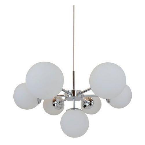 Zuma line Plafon jena p17106-7 lampa sufitowa 7x40w e14 biały