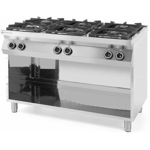 Kuchnia gazowa 6 palnikowa | 28500W